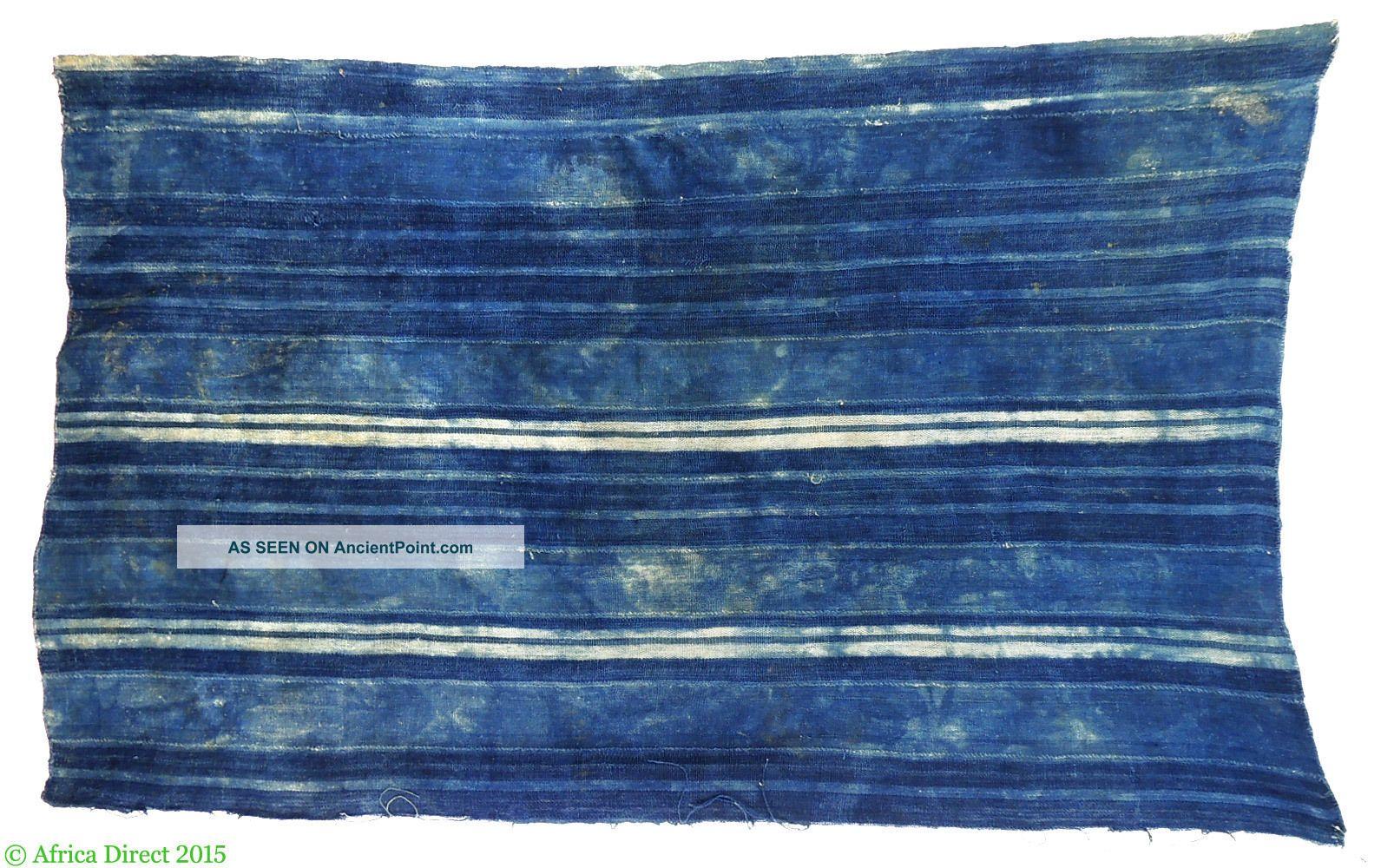 Dogon Or Mossi Indigo Dyed Textile Mali Burkina Faso Africa Other photo