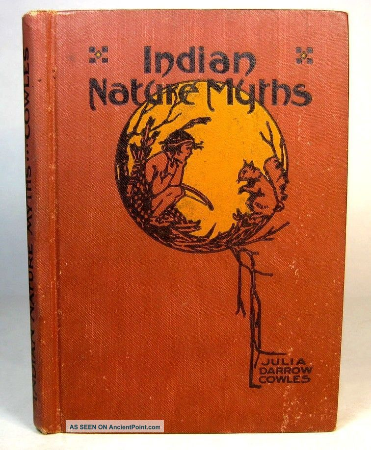 1918 Indian Nature Myths Legends Native American Magic Totem Animals Ojibwa Etc Native American photo