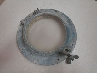Antique Wilcox Critteden 7 Bronze Porthole - Unrestored photo