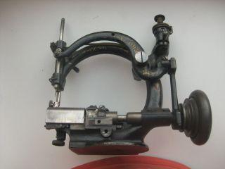 Antique 1890s Willcox & Gibbs Sewing Machine 140 824 photo