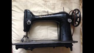 Antique Singer Sewing Machine From A Leather Glovemaker Family photo