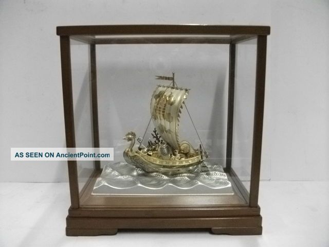 Silver960 (phoenix) Treasure Ship Of The Most Wonderful Japan.  Takehiko ' S Work. Other photo
