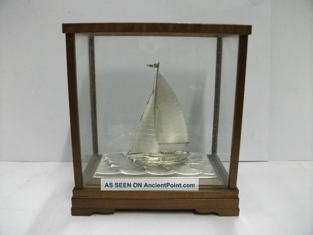 The Sailboat Of Silver960 Of The Most Wonderful Japan.  Takehiko ' S Work. Other photo