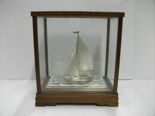 The Sailboat Of Silver960 Of The Most Wonderful Japan.  Takehiko ' S Work. photo