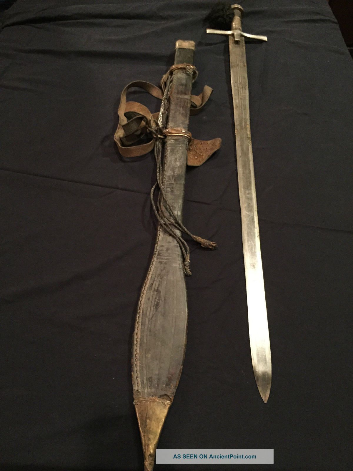 Kaskara North East African Sword And Scabbard Other photo