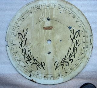 Antique Steampunk 1904 Tupperware Factory Industrial Measurement Gauge photo