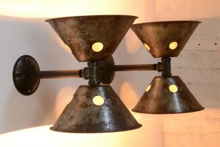 Wall Sconces Industrial Lighting Metal Architectural Antique Lamp photo
