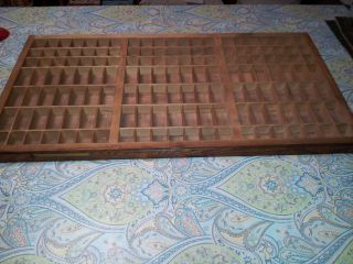 Printer ' S Galley Tray Light Wood 1900 - 1940 ' S United States 32