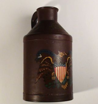 1908 Hood & Sons Metal Milk Can Cream Can Antique Early 1900 ' S photo