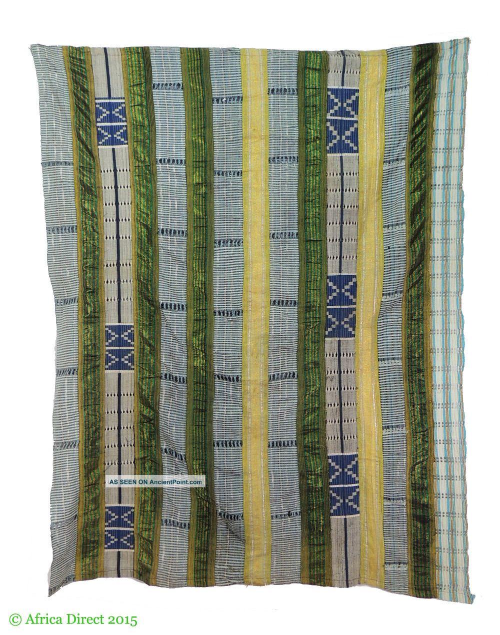 Yoruba Aso Oke Handwoven Textile Openwork Nigeria Africa Other photo
