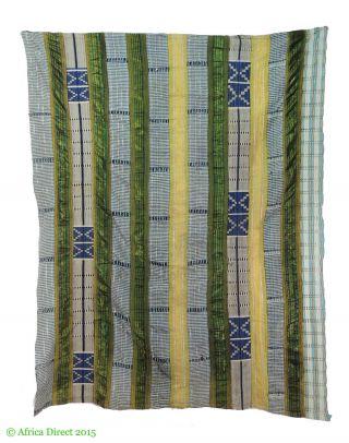Yoruba Aso Oke Handwoven Textile Openwork Nigeria Africa photo