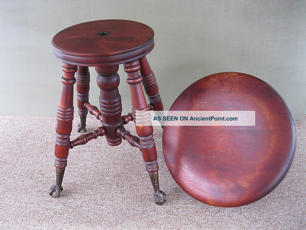 Antique Piano Stool Parts Images