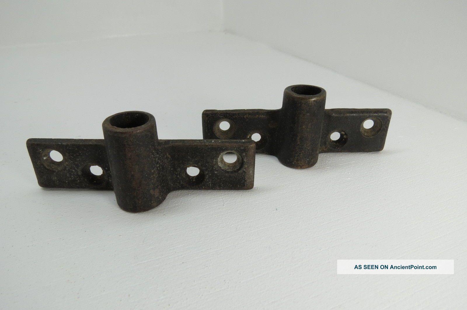 Wilcox Crittenden Bronze Oar Lock Row Boat Mounts Brass (ol158) Other photo