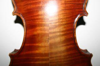 4/4 Antique Old Italian Labeled Violin Guadagnini Label Grafted Neck Repair - photo