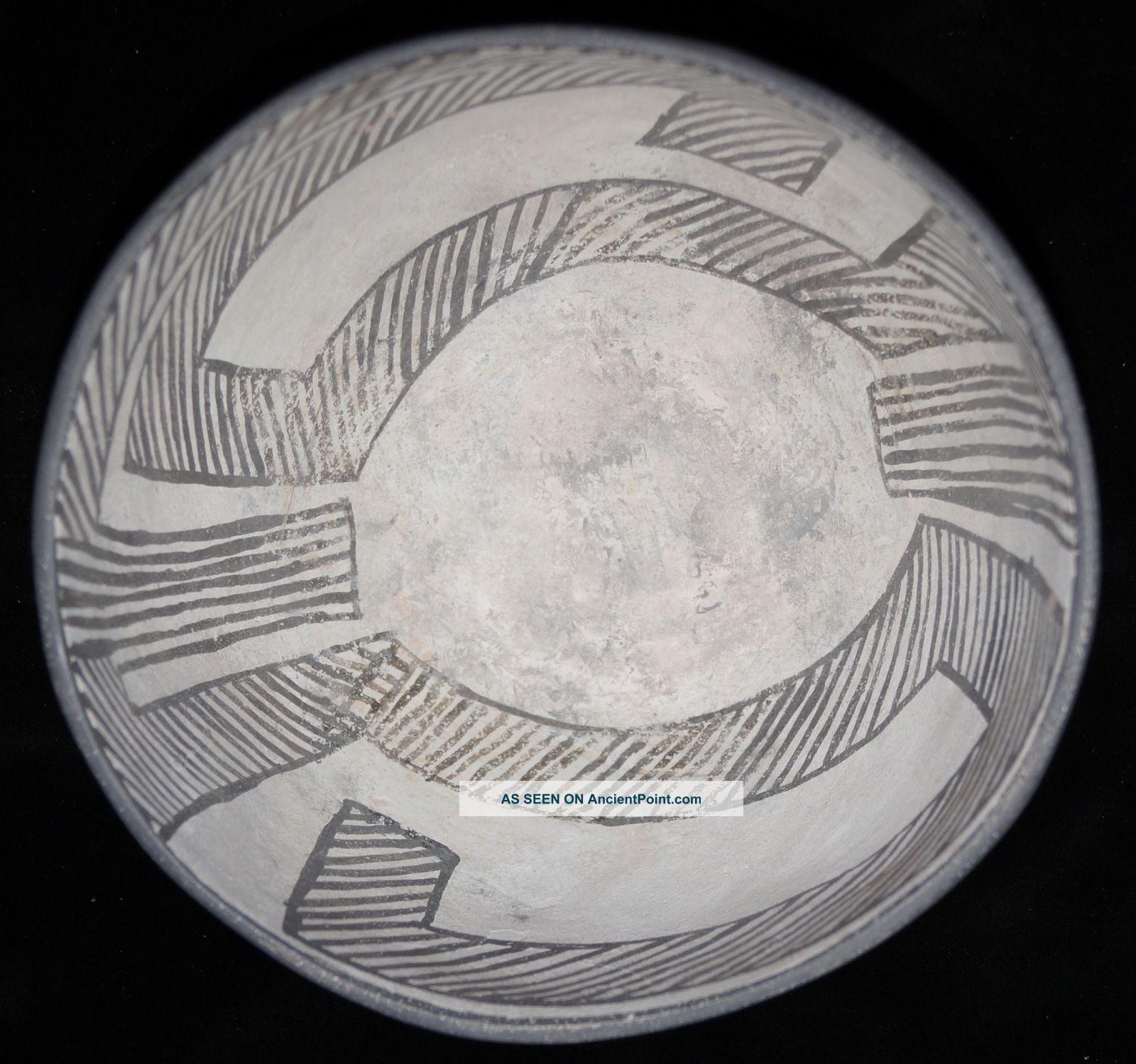 Large & Fine Pre - Historic Anasazi Mesa Verde Bowl Solid Native American photo