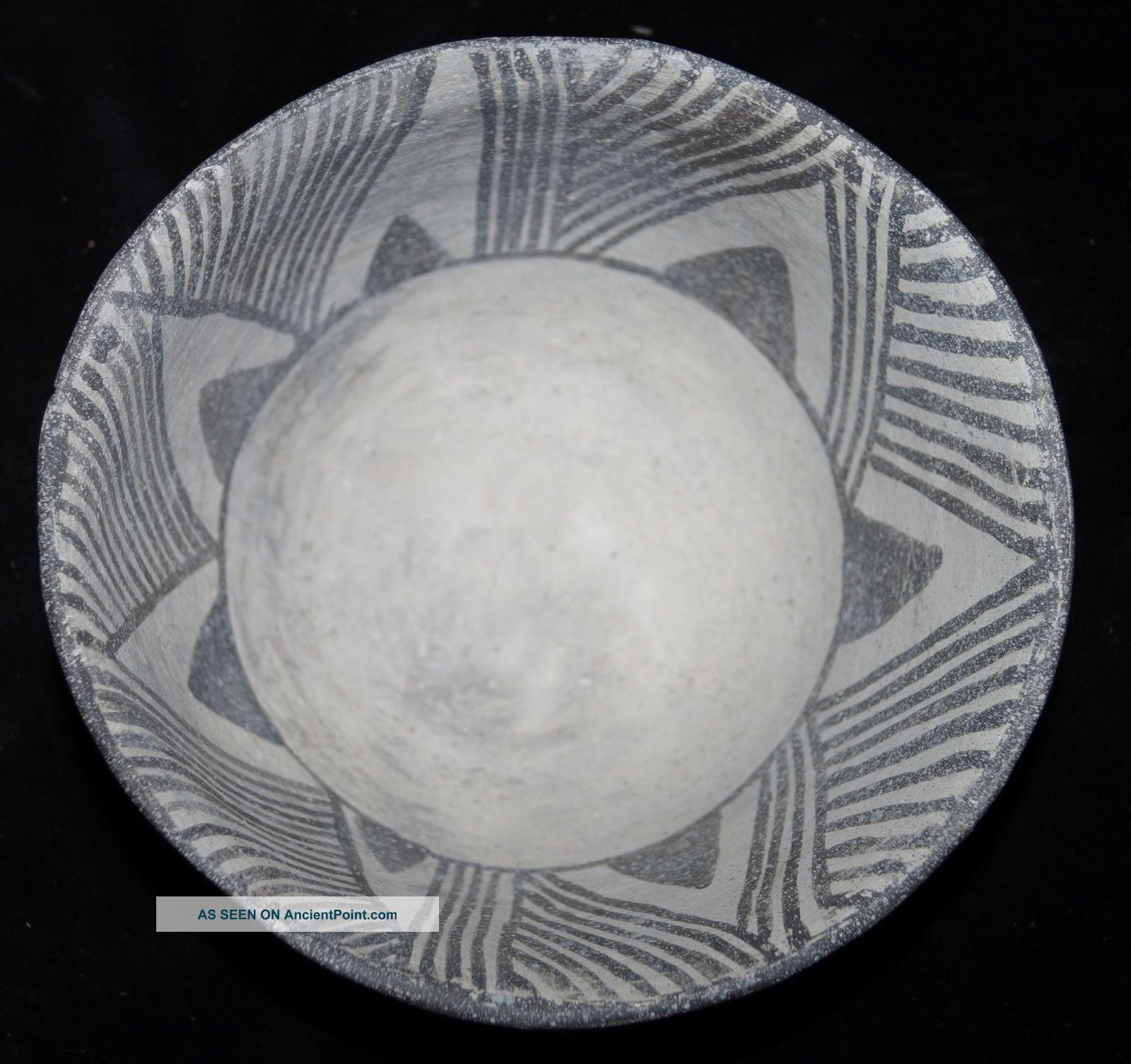 Fine Pre - Historic Anasazi Mesa Verde Bowl Solid Native American photo