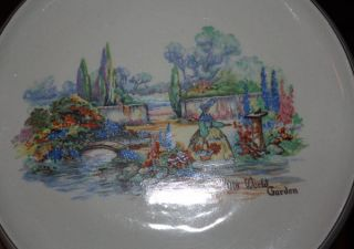 Antique Sandland Ware Tea Tile photo