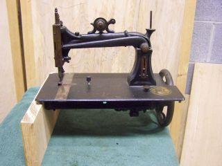 Rare Antique Elias Howe Sewing Machine Model