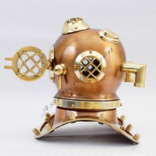 Collectible Marine Diving Helmet - Deep Sea Divers Diving Helmet Replica photo