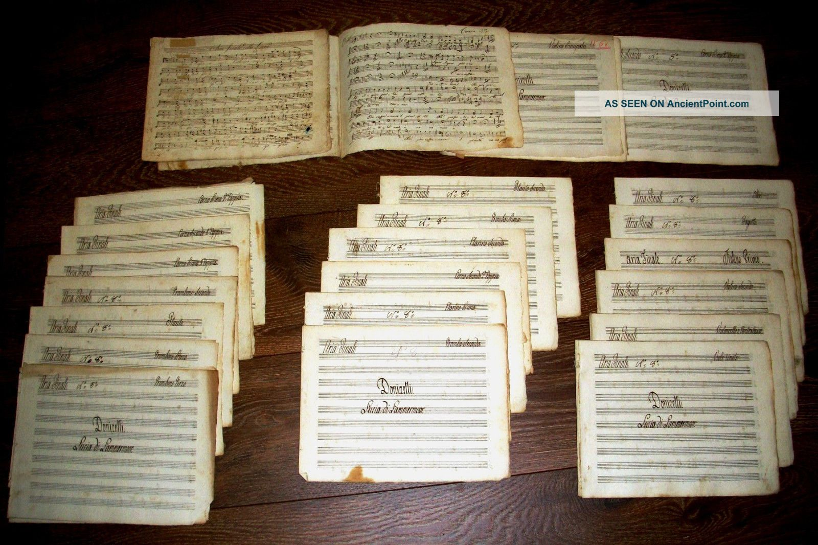 Handwritten Music Score From