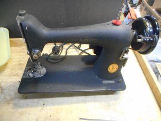L2340 - Antique 1941 Singer Model 66 Sewing Machine photo