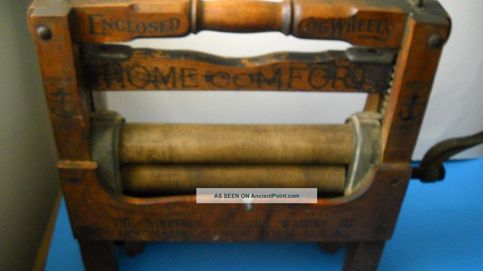 Antique Nineteen Hundred Washer Company Wringer Patented June 21,  1908 Washing Machines photo