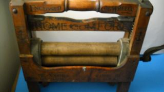 Antique Nineteen Hundred Washer Company Wringer Patented June 21,  1908 photo