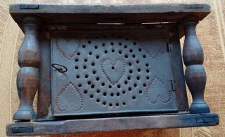 Antique Bed Warmer photo