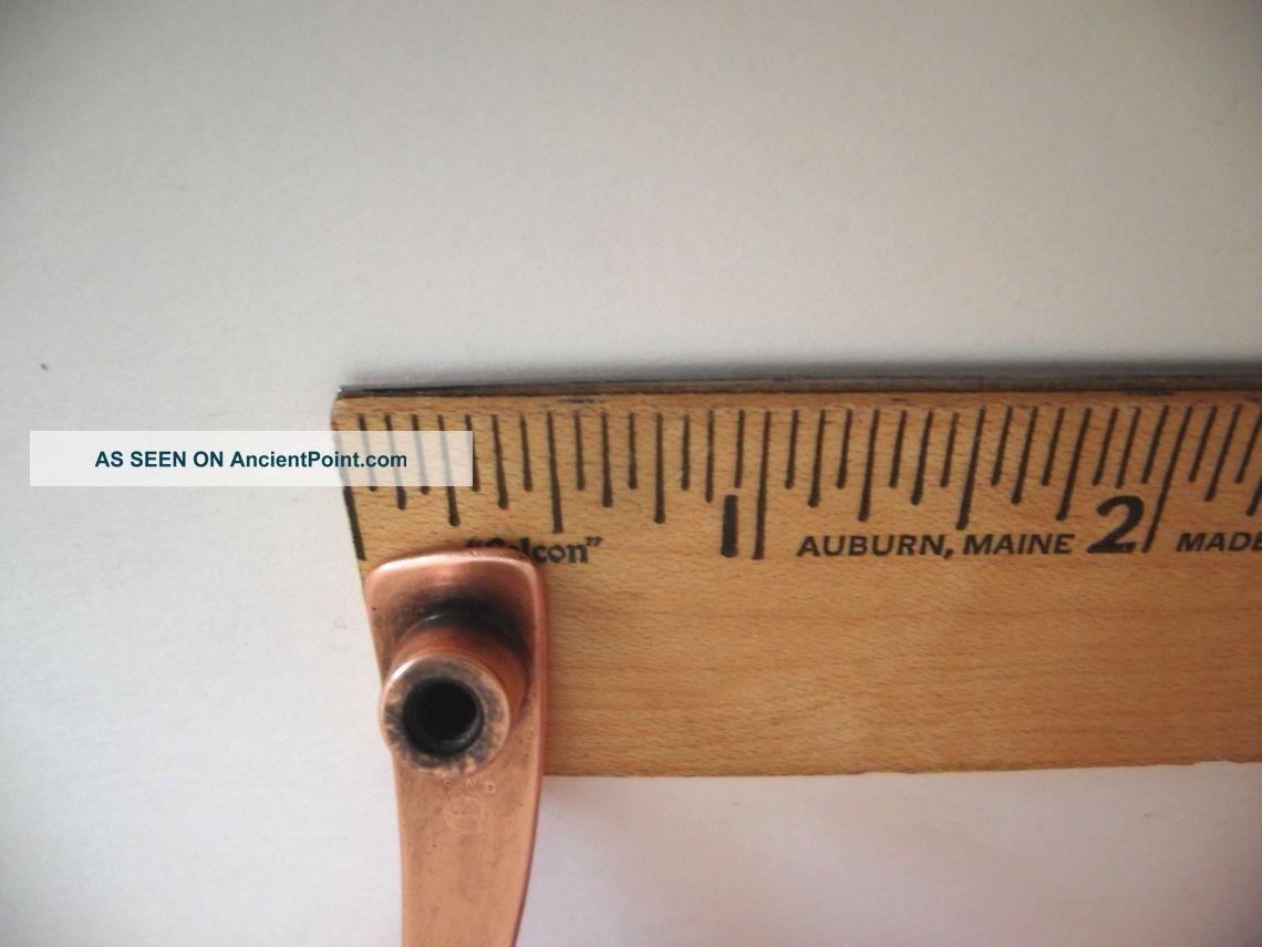 Vintage Satin COPPER Drawer Pulls Cabinet Door Handles Bowtie Airstream Kenskill