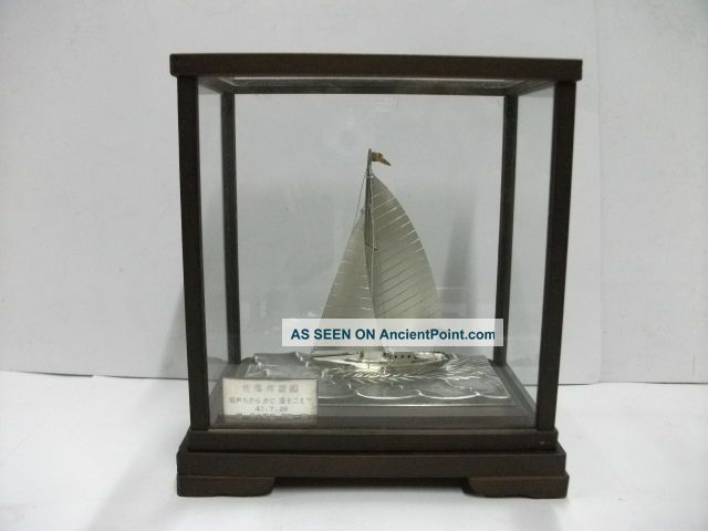 The Silver960 Sailboat Of The Most Wonderful Japan.  A Work Of Takehiko. Other photo