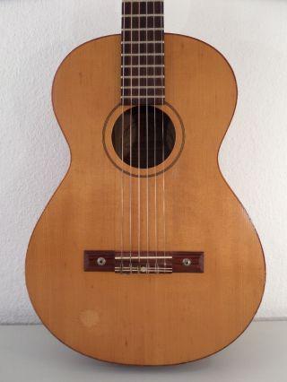 Vintage Framus Blues Antique Old Parlour Parlor German Guitar Acoustic Germany photo