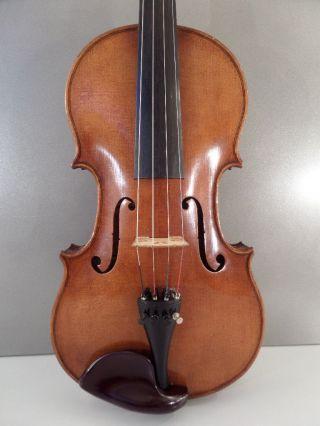 Rare German Framus Stradivarius Antique Old Violin Violino Violine Viola Violini photo