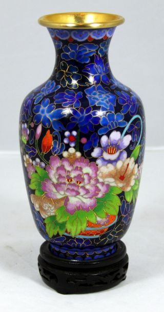 Hand Made Cloisonne Vase