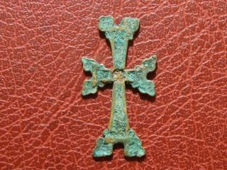 Byzantine Empire Or Crusader Cross To Identify photo