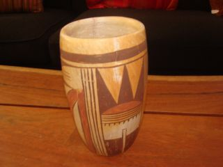 Very Old Hopi Native American Tulip Vase