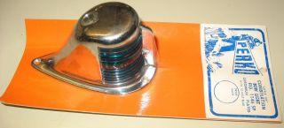 "Vintage Perko ""little Joe"" Combo Red/green Bow Light 1146sp 12 Volt Bulb photo"