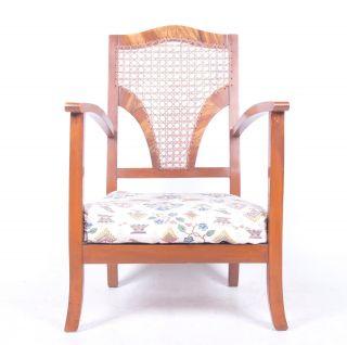 Antique Oak Bergere Bedroom Chair Nursing Chair Swedish Deco Childs Armchair photo