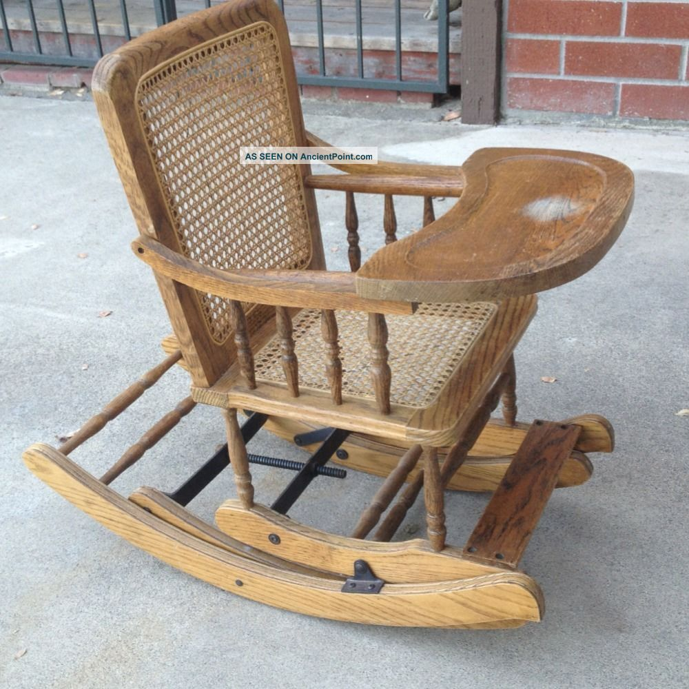 Antique Furniture Child High Chairs  Trend Home Design And Decor
