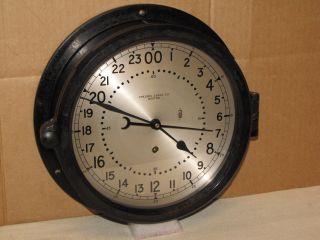Chelsea Ships Clock U S Navy 10 1/2