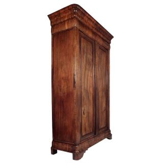 19th Century,  French,  Antique,  Louis Philippe - Style Dual - Door Armoire photo