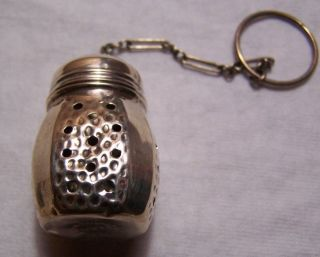 S.  C.  S.  Co Sterling Tea Infuser photo