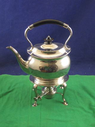 Vintage Spirit Kettle Teapot Silver Plated.  A Real One Off.  Fantastic P3806usc photo