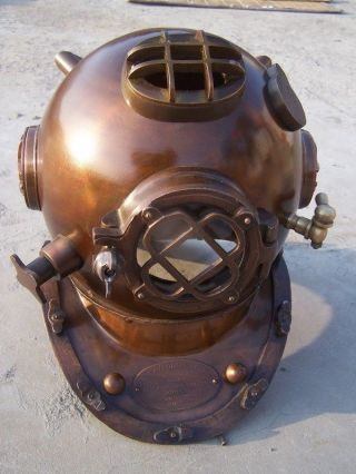 Maritime Scuba Divers Helmet Mark V Heavy Model Full Size Collectibles photo