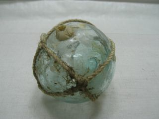Vintage Glass Fishing Float 1.  25
