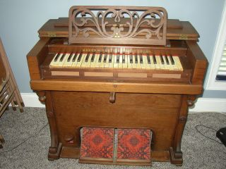 Antique Mason & Hamlin Pump Organ Dated 1862 - Pick Up Or Moving Co. photo