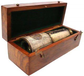 Antique 1885 London Spyglass 16