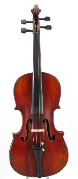 Italian Antique Giuseppe Bertolli Labeled Old 4/4 Violin photo
