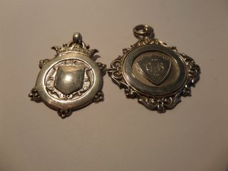 2 Solid Silver Sport Medal, photo