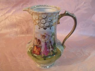 19th Century Royal Vienna Signed Kaufmann Hand Painted 8 1/2
