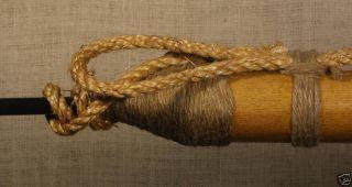 7 ' Brass Tip Whaling Harpoon - Nautical Decor photo